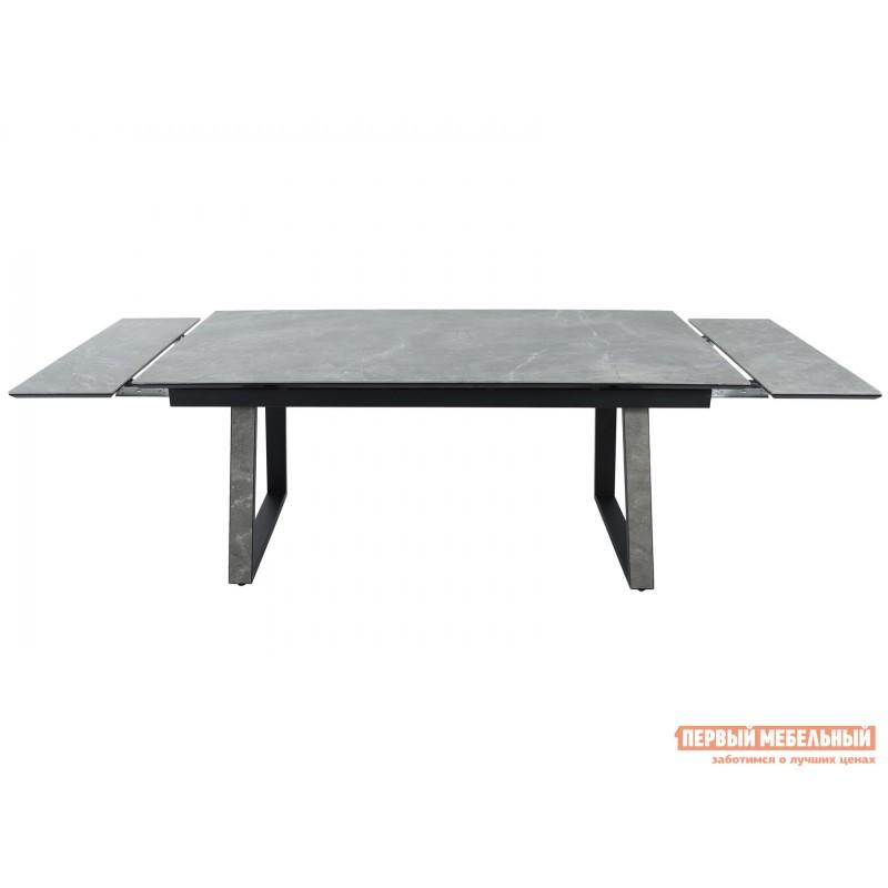 Кухонный стол  Монако Bayona grey / Черный, металл (фото 5)