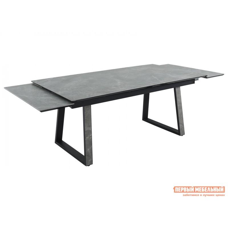 Кухонный стол  Монако Bayona grey / Черный, металл (фото 6)