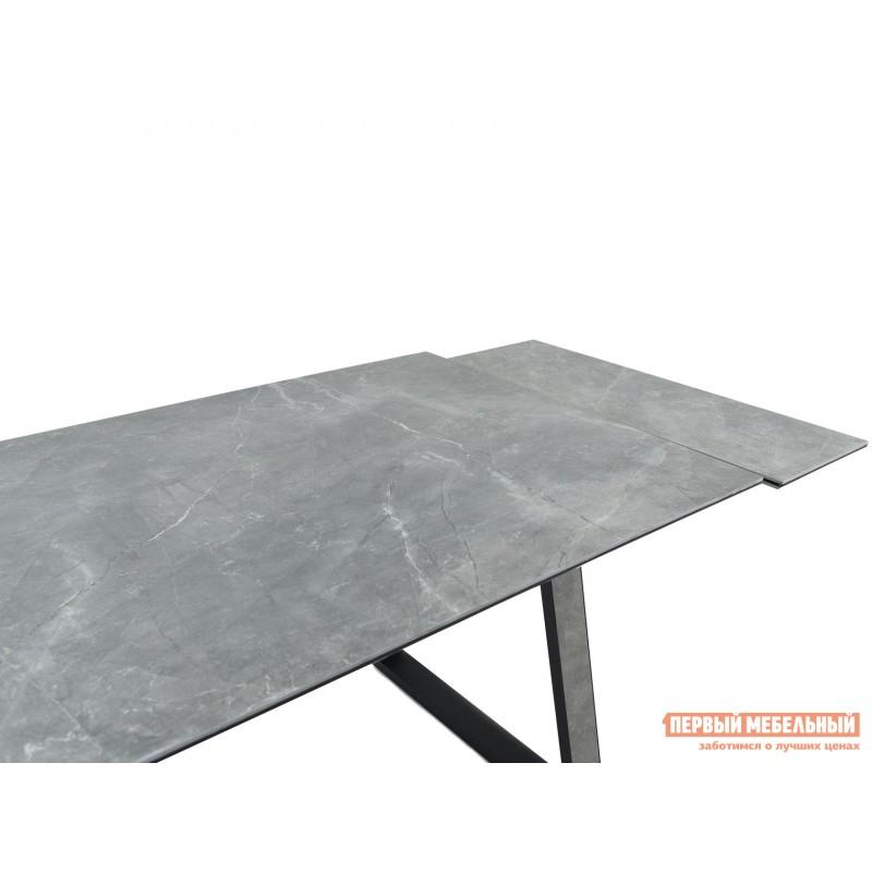 Кухонный стол  Монако Bayona grey / Черный, металл (фото 7)