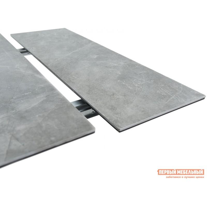 Кухонный стол  Монако Bayona grey / Черный, металл (фото 8)
