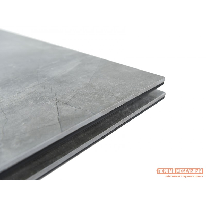 Кухонный стол  Монако Bayona grey / Черный, металл (фото 9)