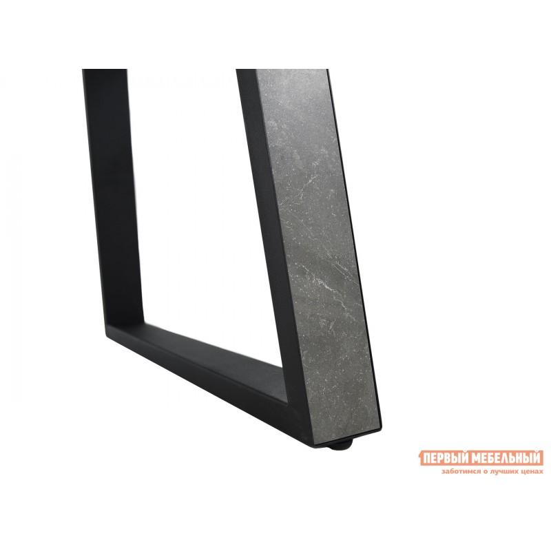 Кухонный стол  Монако Bayona grey / Черный, металл (фото 10)