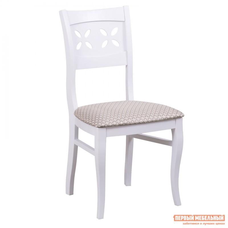Обеденная группа для столовой и гостиной  Стол Амадей + 4 стула Лион Белый матовый (фото 2)