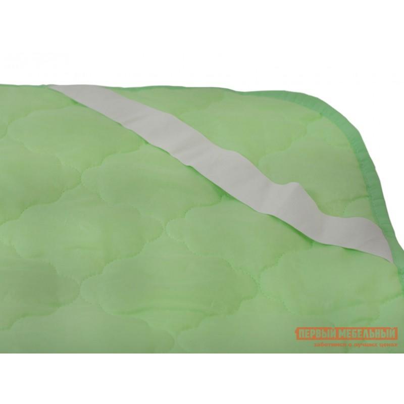 Чехол для матраса  Наматрасник бамбук микрофибра Зеленый, 1400 Х 2000 мм (фото 3)