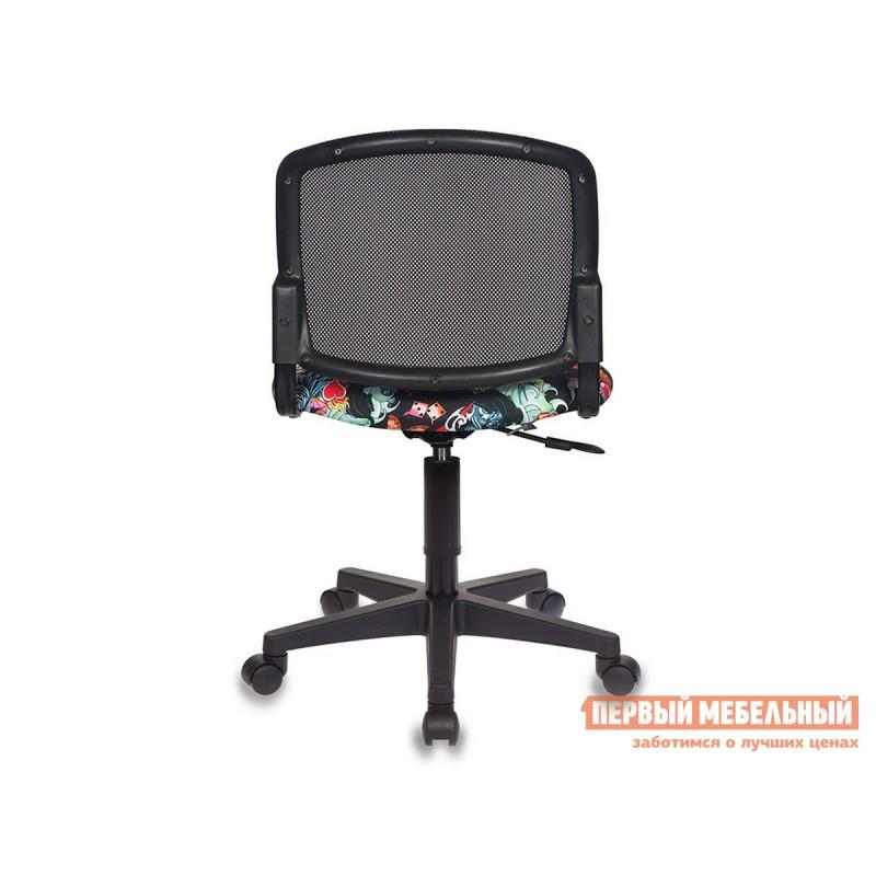 Детское компьютерное кресло  CH-296NX TATTOO / Спинка сетка черный (фото 2)