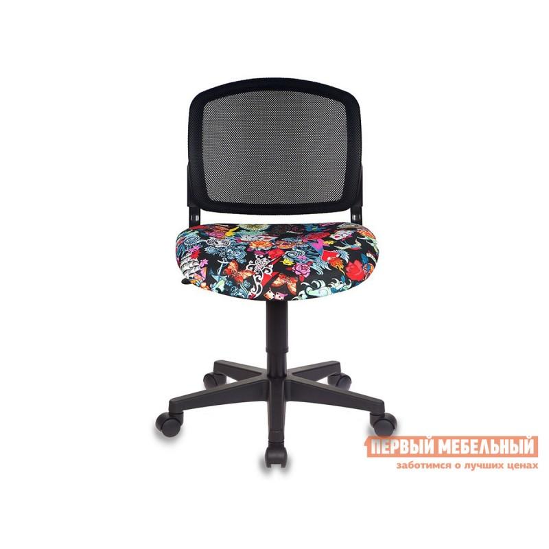 Детское компьютерное кресло  CH-296NX TATTOO / Спинка сетка черный (фото 3)