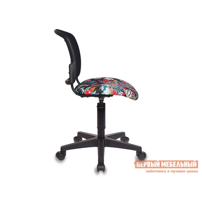 Детское компьютерное кресло  CH-296NX TATTOO / Спинка сетка черный (фото 4)