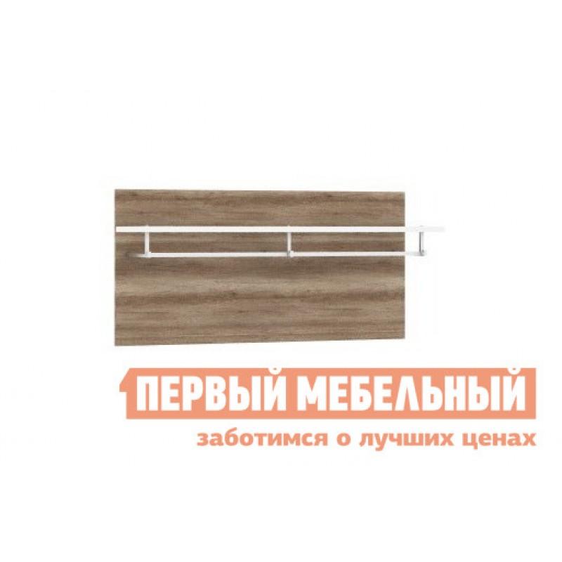 Настенная вешалка  Секция с вешалкой Джулия Дуб каньон / Белый глянец