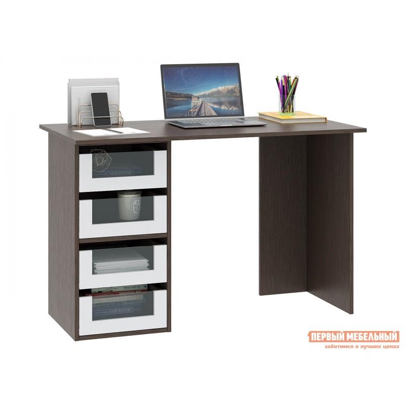 Письменный стол  Прайм-42 Венге / Белый