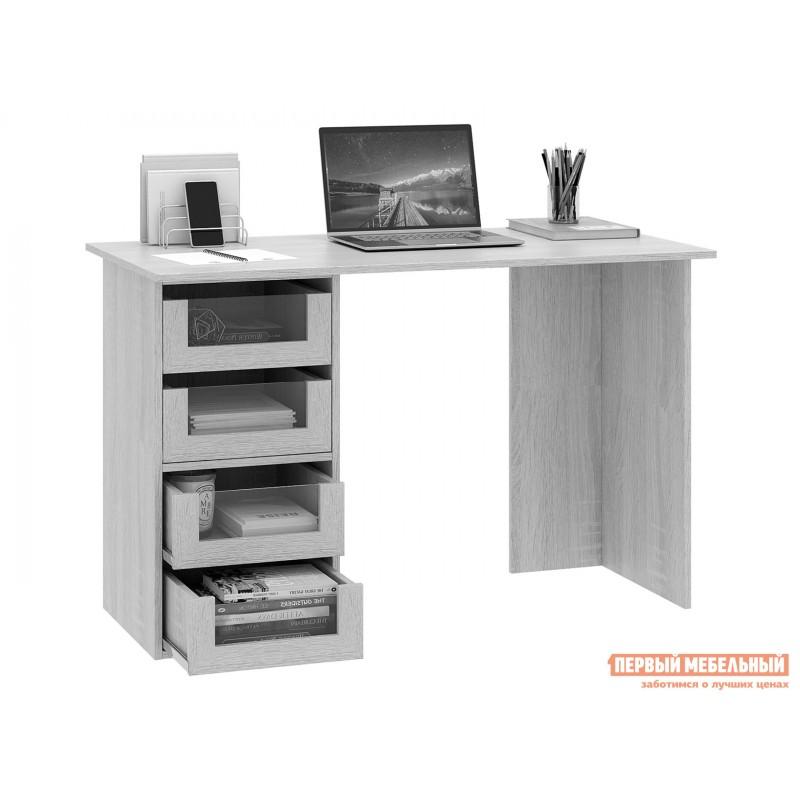 Письменный стол  Прайм-42 Венге / Белый (фото 2)