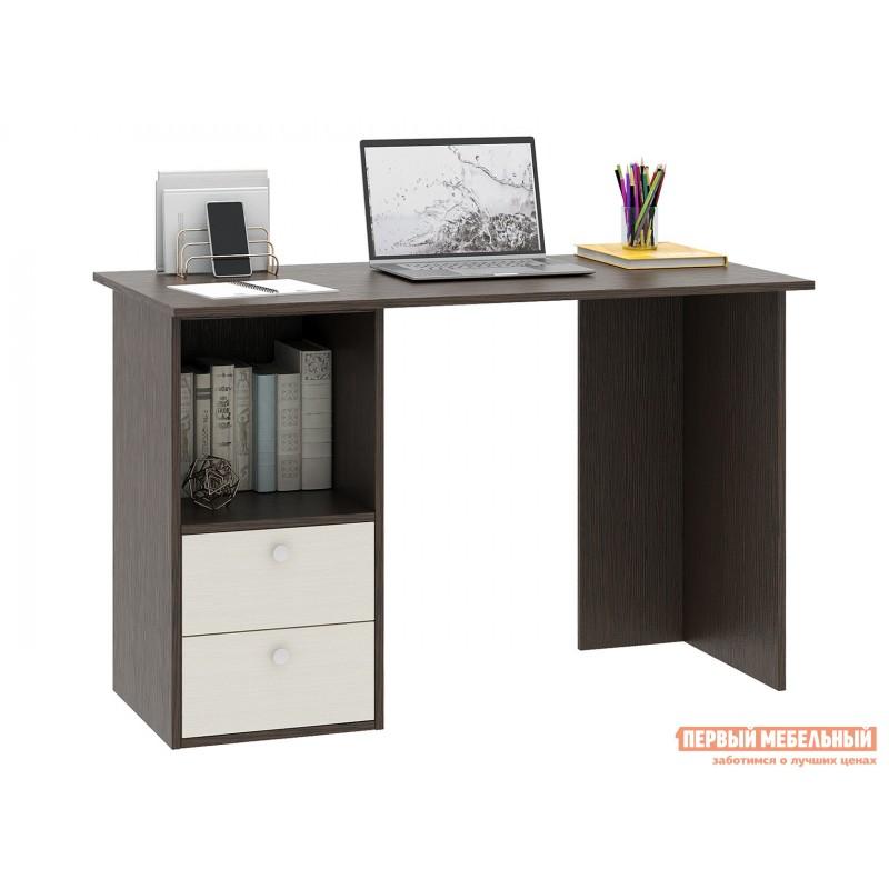 Письменный стол  Прайм-43 Венге / Дуб молочный