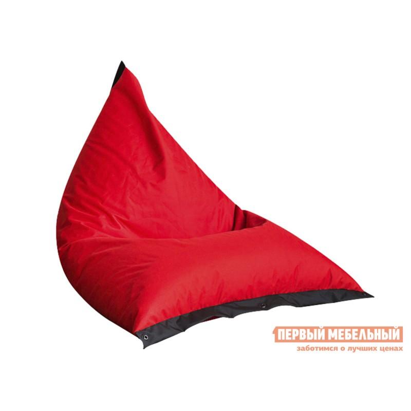 Кресло-мешок  Кресло-мешок Пирамида К Красный / Черный (Оксфорд 210D)