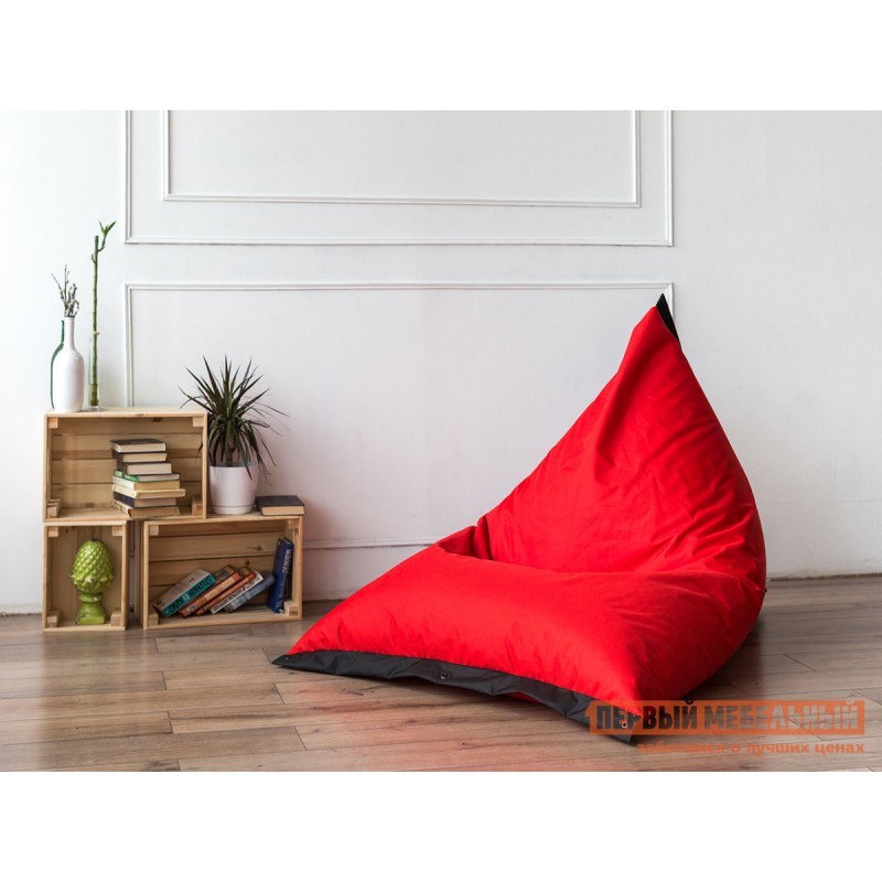 Кресло-мешок  Кресло-мешок Пирамида К Красный / Черный (Оксфорд 210D) (фото 3)