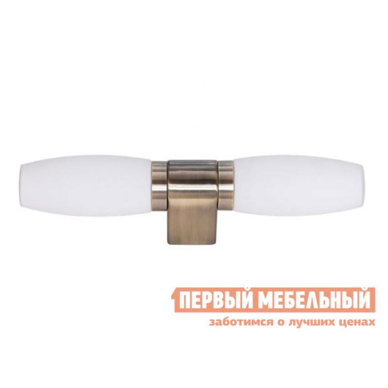 Бра  Бра AQUA-BASTONE A1209AP-2AB Античная бронза / Белый