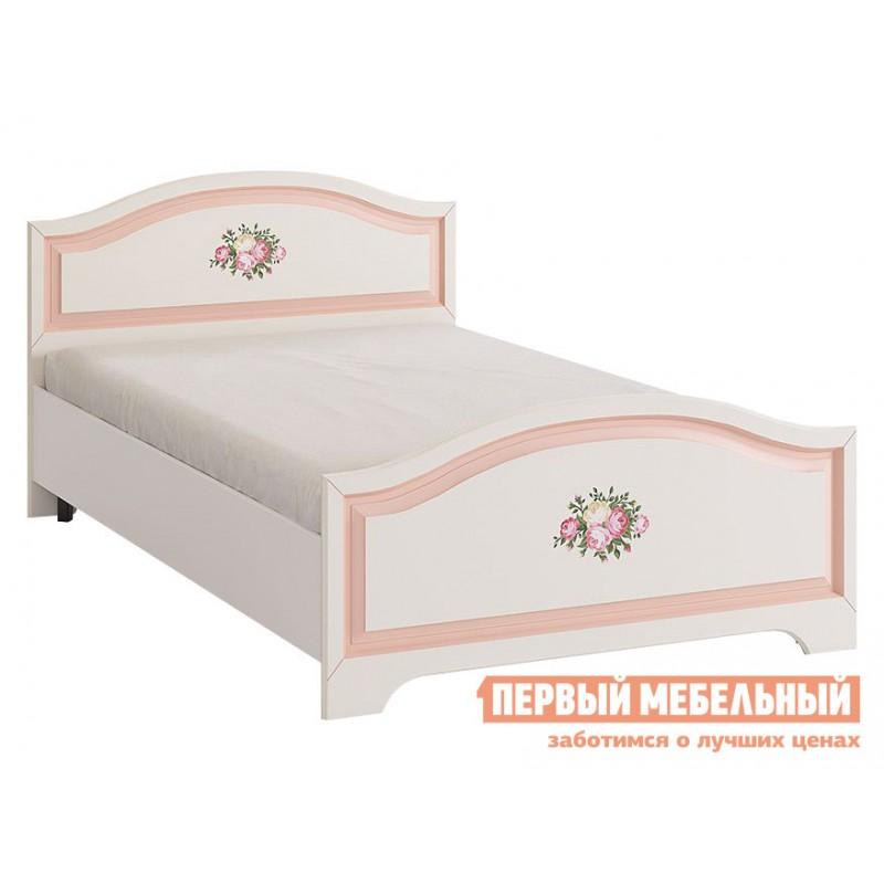 Детская кровать   Алиса (Кровать 1,2х2,0) МКА-010 Белый / Крем