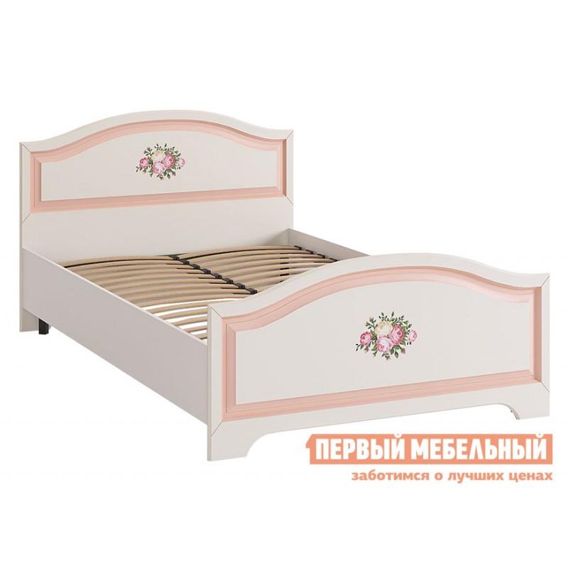 Детская кровать   Алиса (Кровать 1,2х2,0) МКА-010 Белый / Крем (фото 2)