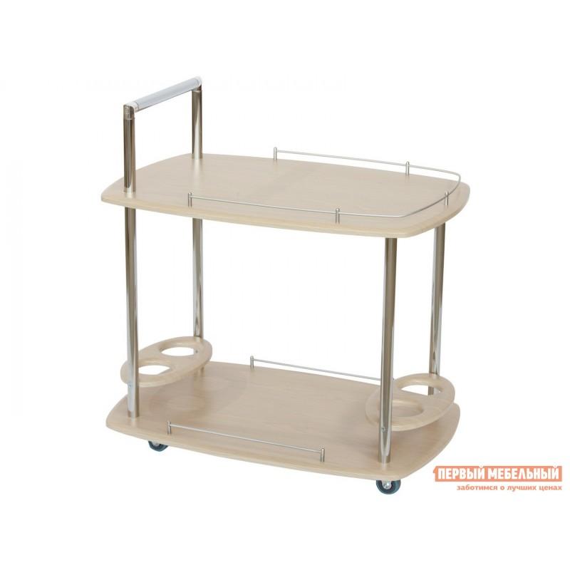 Сервировочный столик  Стол сервировочный Банкет Дуб беленый (фото 2)