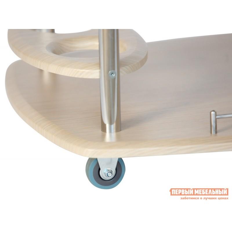 Сервировочный столик  Стол сервировочный Банкет Дуб беленый (фото 3)