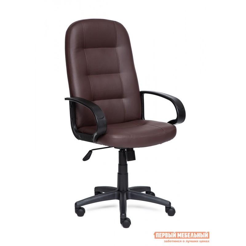 Кресло руководителя  Devon Иск.кожа коричневая PU 36-36