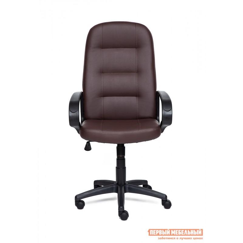Кресло руководителя  Devon Иск.кожа коричневая PU 36-36 (фото 2)