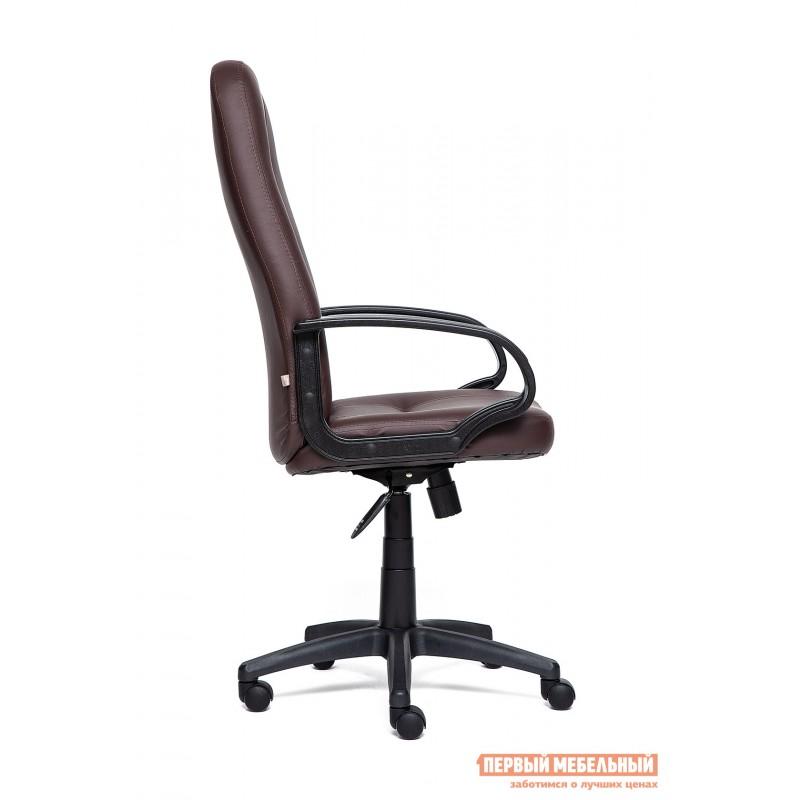 Кресло руководителя  Devon Иск.кожа коричневая PU 36-36 (фото 3)