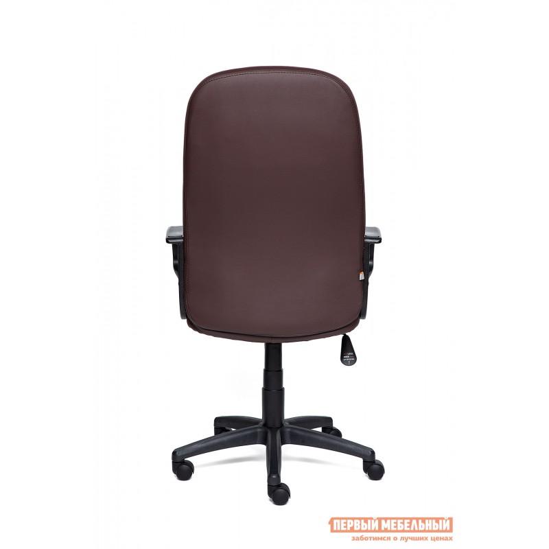 Кресло руководителя  Devon Иск.кожа коричневая PU 36-36 (фото 4)