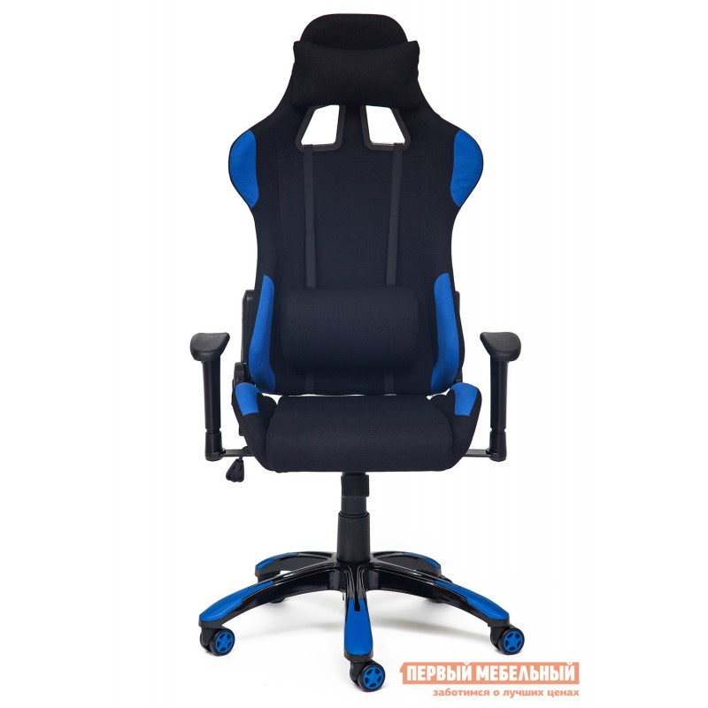 Игровое кресло  iGear Черно-синий/black-navy (фото 2)