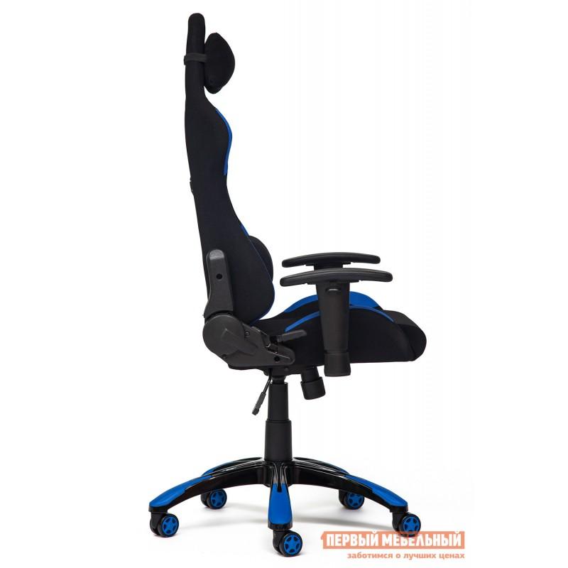 Игровое кресло  iGear Черно-синий/black-navy (фото 3)
