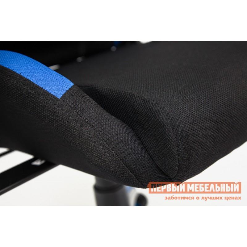 Игровое кресло  iGear Черно-синий/black-navy (фото 4)