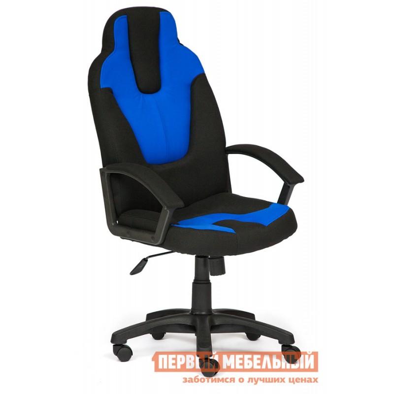 кресло компьютерное синее бу фото тех