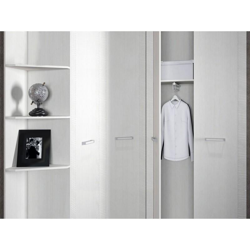 Распашной шкаф  Элегия ШК-155 Лиственница светлая (фото 2)