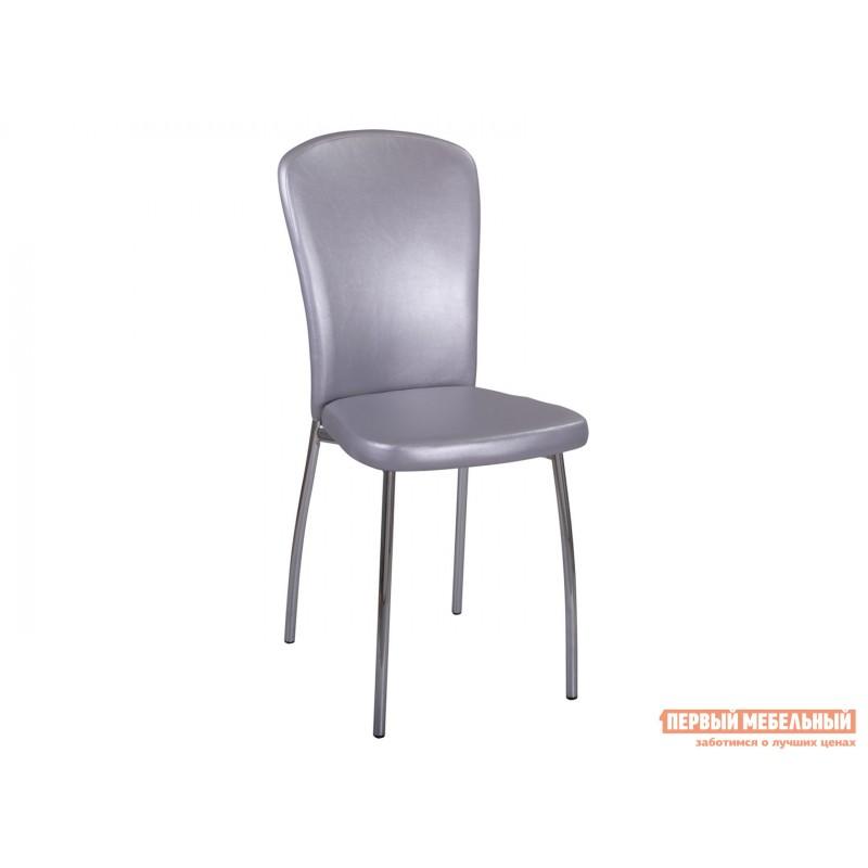 Стул  Обеденный стул Палермо C1/C1 Серебристый, экокожа