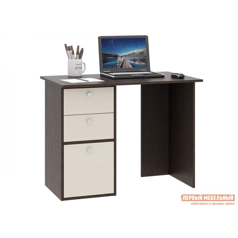 Письменный стол  Прайм-35 Венге / Дуб молочный