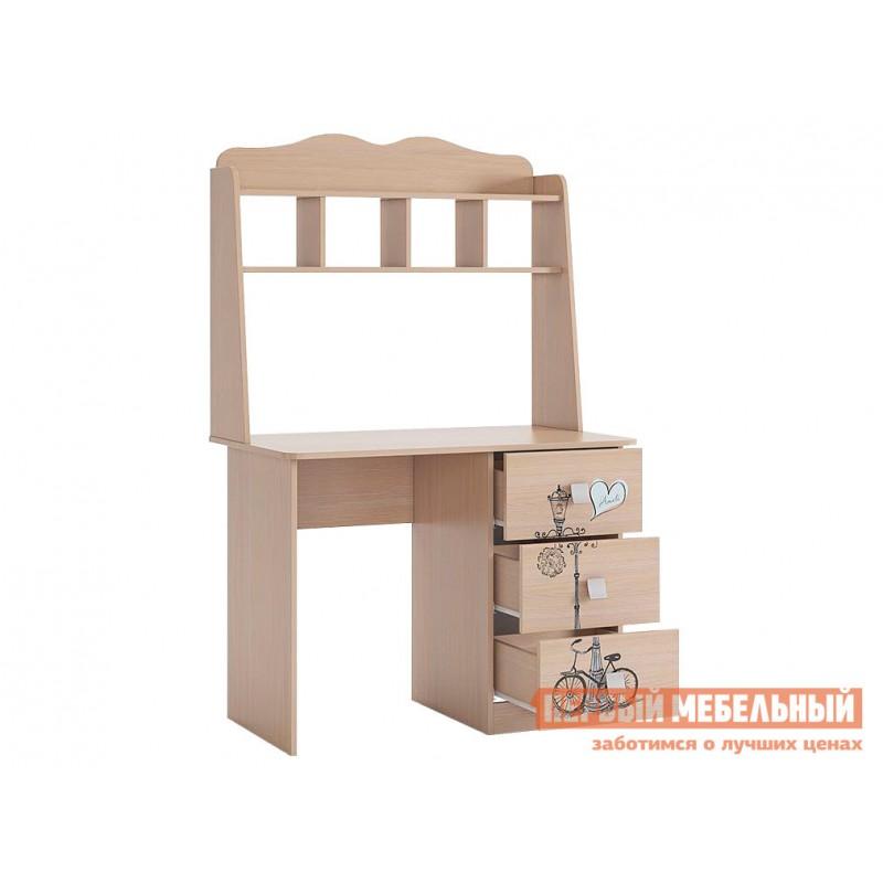 Детский письменный стол  Амели Стол Дуб Млечный (фото 2)