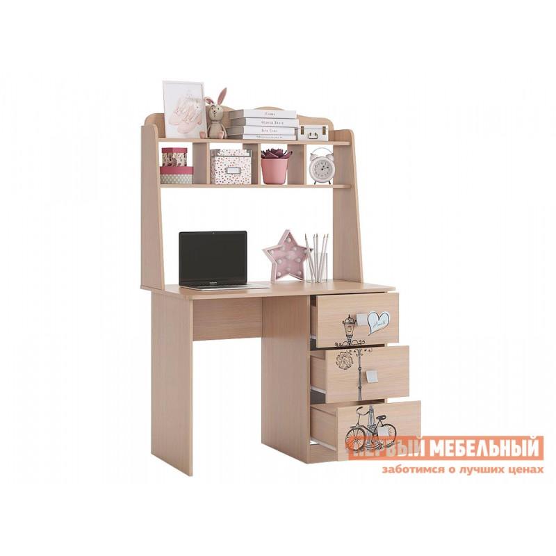 Детский письменный стол  Амели Стол Дуб Млечный (фото 3)