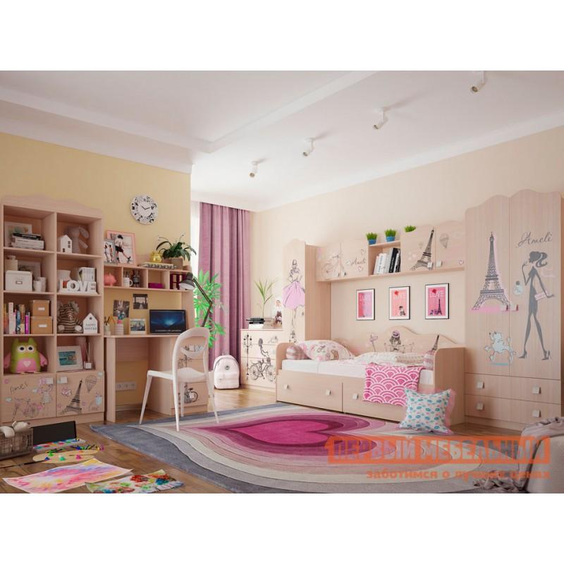 Детский письменный стол  Амели Стол Дуб Млечный (фото 5)