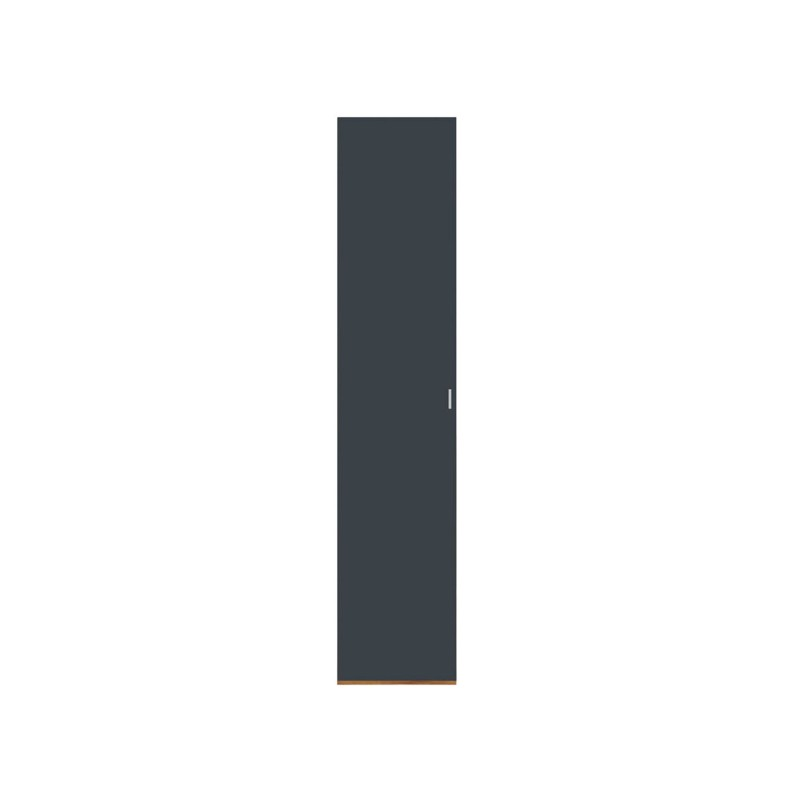 Распашной шкаф  Шкаф-пенал Вега Бавария Таксония медовая / Антрацит, Без зеркала (фото 2)