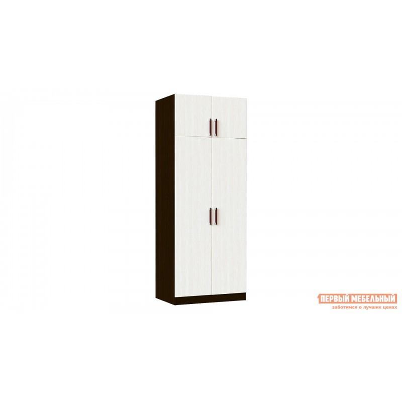 Распашной шкаф  Шкаф Лидер 2 Венге / Лоредо