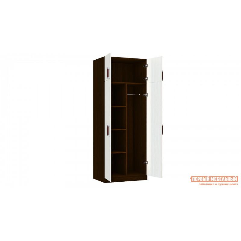 Распашной шкаф  Шкаф Лидер 2 Венге / Лоредо (фото 3)