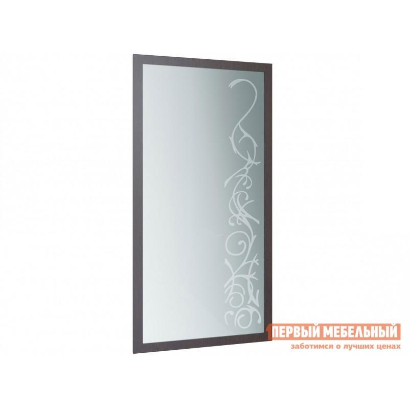 Настенное зеркало  Зеркало Юнона-2 1004х500 Венге