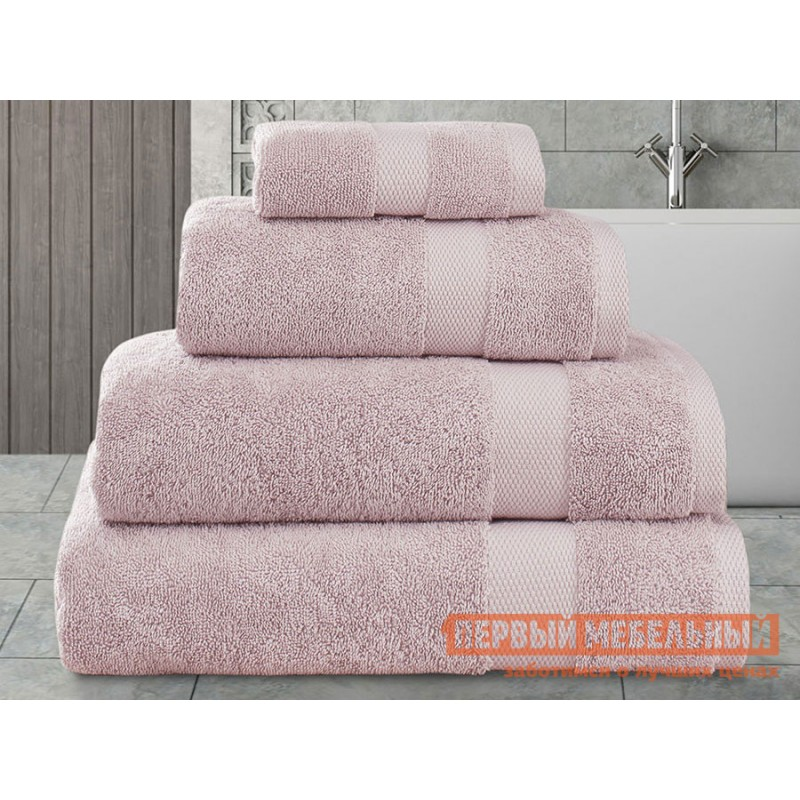 Полотенце  AREL Махровый Arel, грязно-розовый