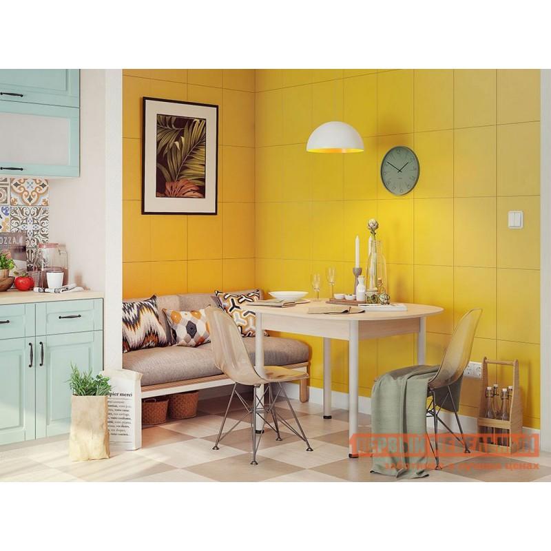 Кухонный стол  Квартет Дуб млечный / Серый, металл (фото 3)