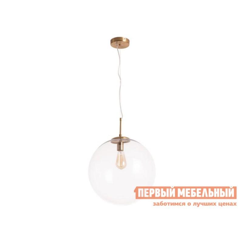 Потолочная люстра  Подвесной светильник VOLARE A1940SP-1AB Античная бронза / Прозрачный