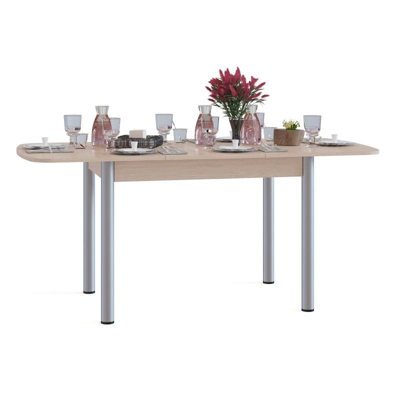 Кухонный стол  СО-3м Беленый дуб