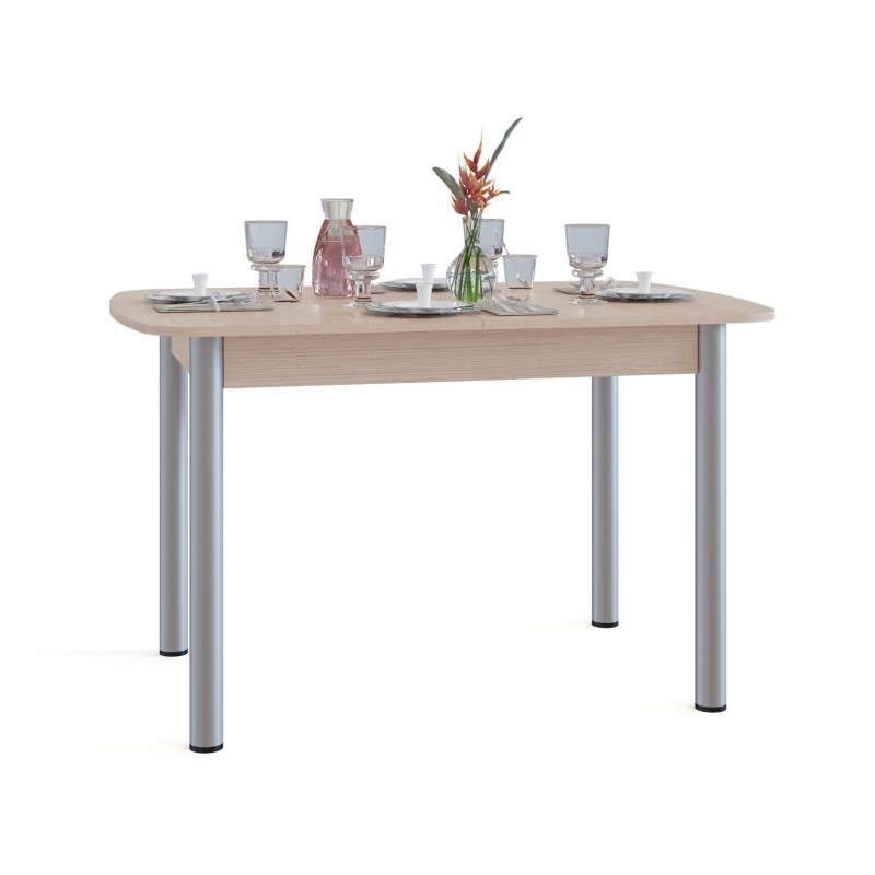 Кухонный стол  СО-3м Беленый дуб (фото 2)