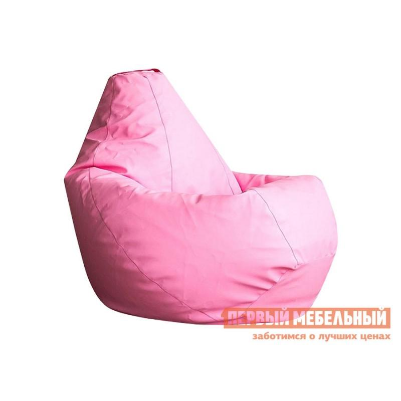 Кресло-мешок  Кресло-мешок Ашли Розовая экокожа, 2XL