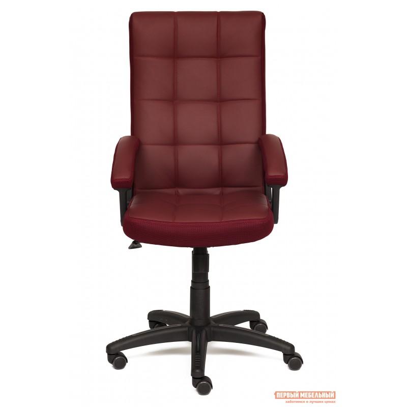 Офисное кресло  Trendy New Кож/зам/ткань, бордо / бордо, 36-7/13 (фото 3)