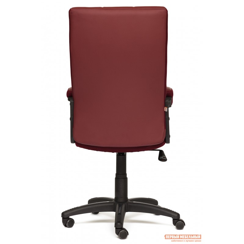 Офисное кресло  Trendy New Кож/зам/ткань, бордо / бордо, 36-7/13 (фото 4)