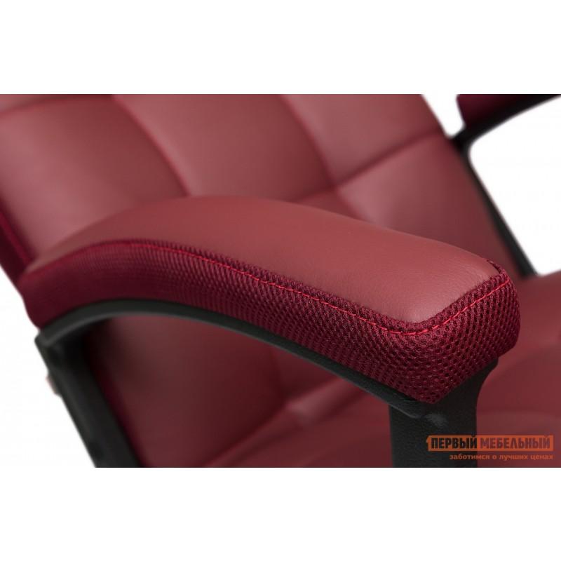 Офисное кресло  Trendy New Кож/зам/ткань, бордо / бордо, 36-7/13 (фото 5)