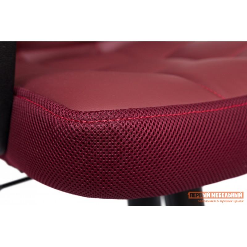 Офисное кресло  Trendy New Кож/зам/ткань, бордо / бордо, 36-7/13 (фото 6)